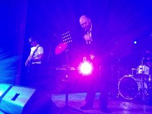 Alan Webb on stage
