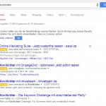 SEO Contest xovilichter bei Google am 04. Mai 2014.