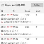 bahn verspätung ICE 843 ICE 853 nach Berlin