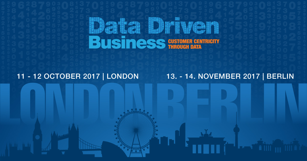 Data Driven Business Berlin 2017 – Rabattcode