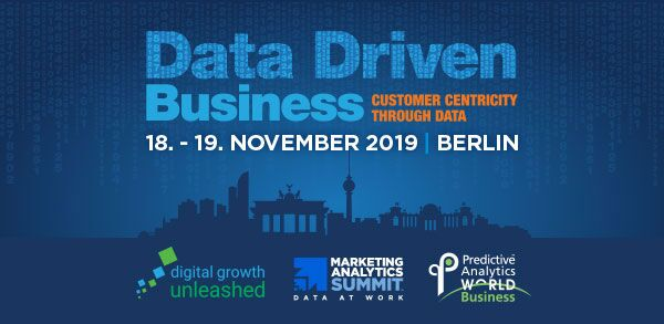 Data Driven Business Berlin 2019 – Rabattcode