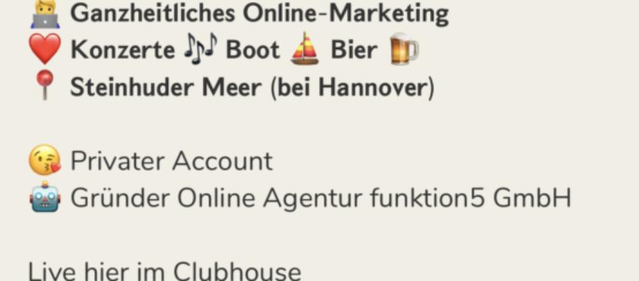 clubhouse tipps zur Nutzung