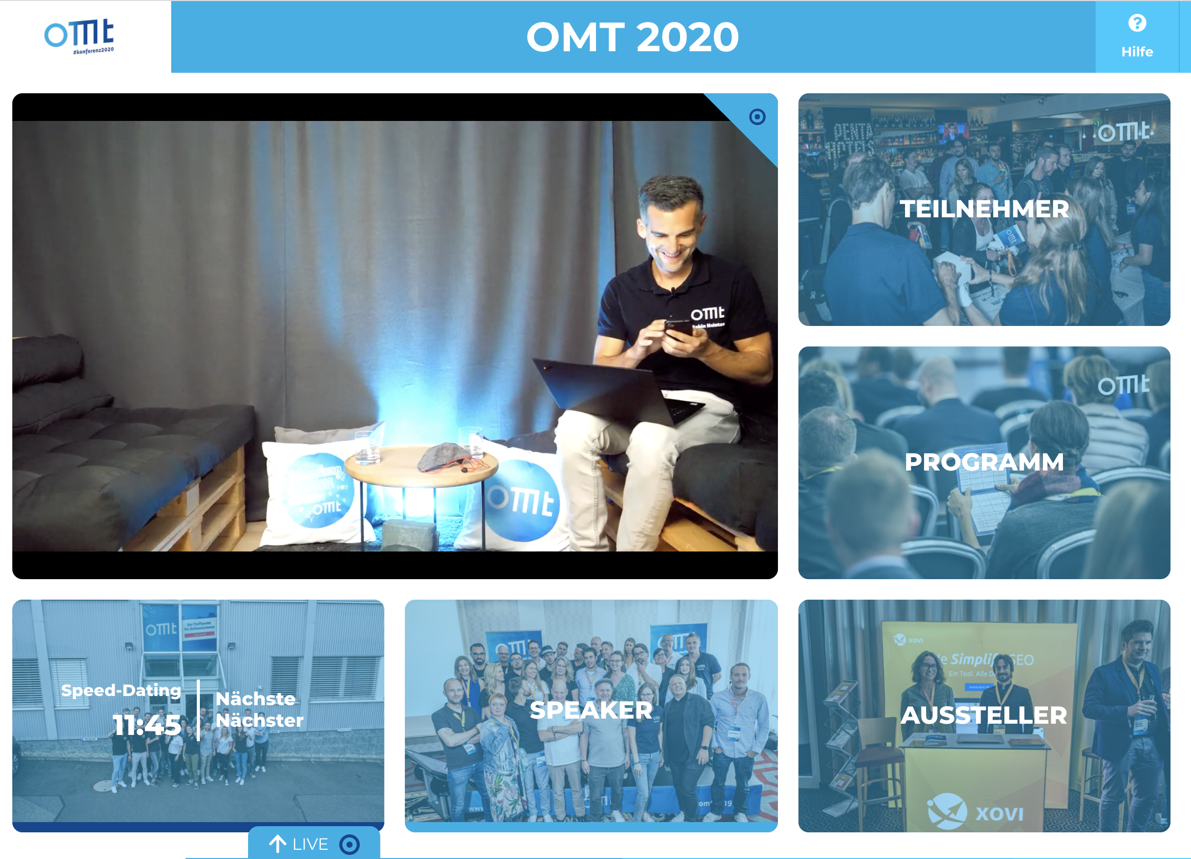 OMT 2020 - Event